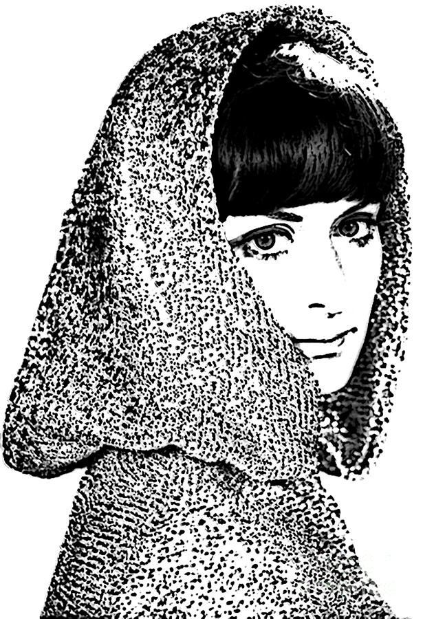 Hooded Woman Photograph  - Hooded Woman Fine Art Print