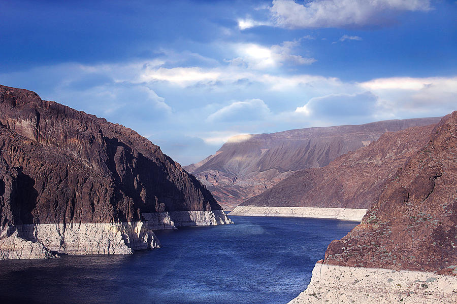 Hoover Dam Photograph - Hoover Dam by Yosi Cupano