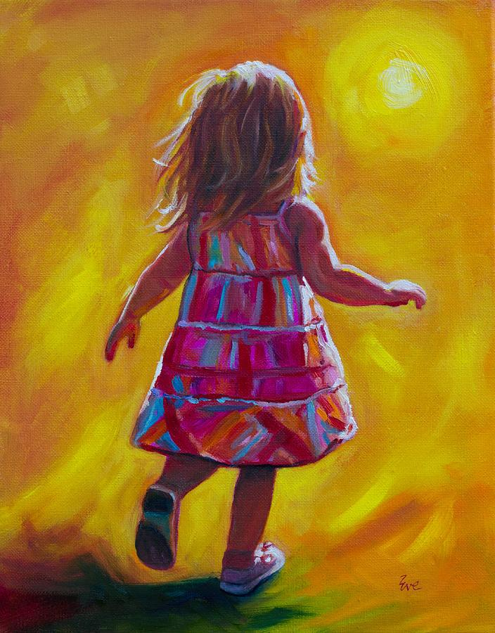 Hope Painting By Eve Wheeler