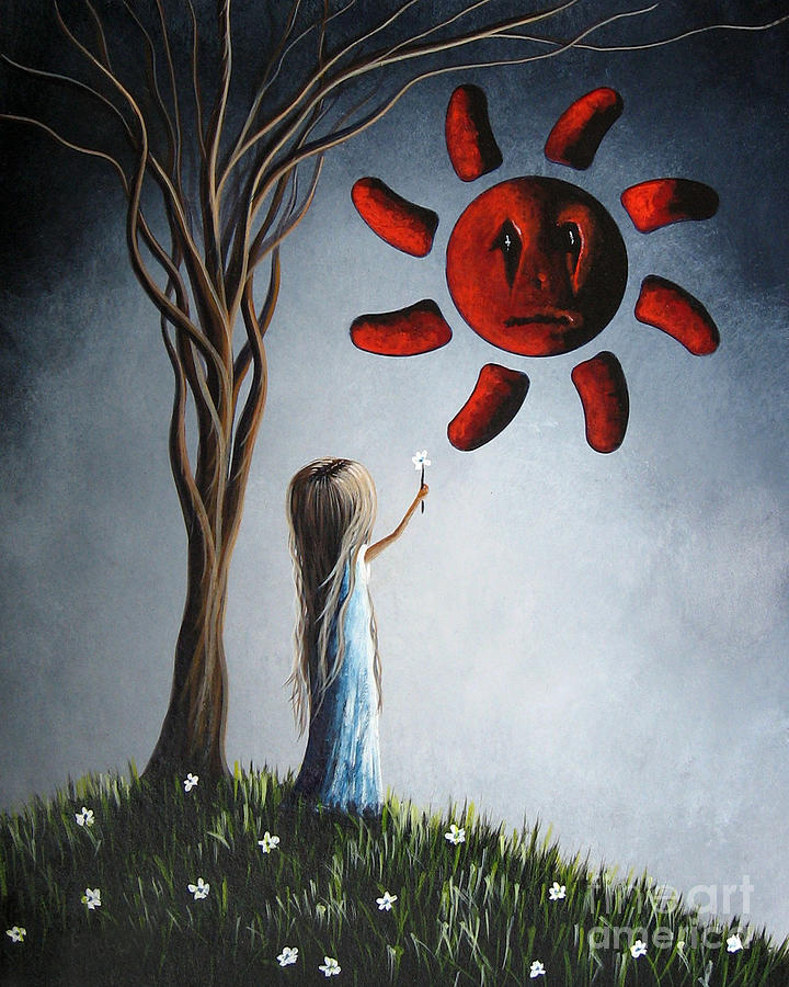 Low Brow Painting - Hope You Feel Better Soon By Shawna Erback by Shawna Erback