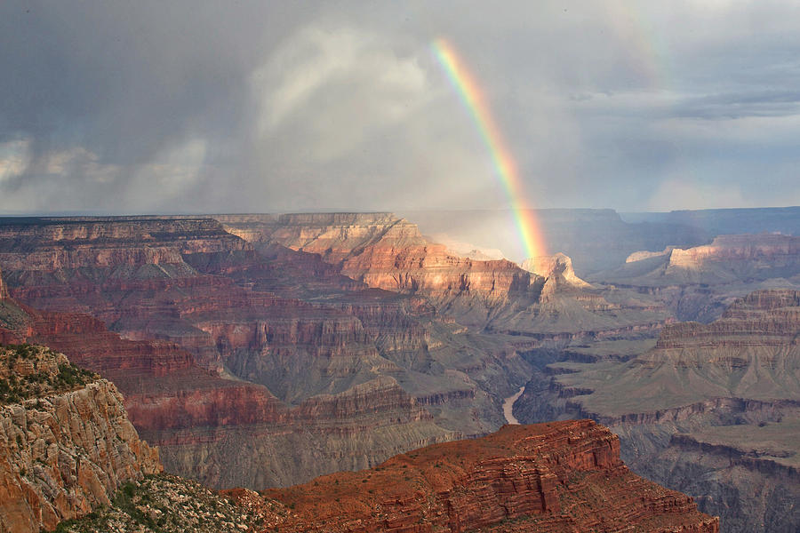 Hopi Point Rainbow Photograph
