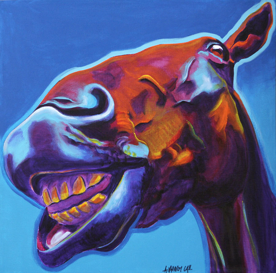 Horse - Finn Painting