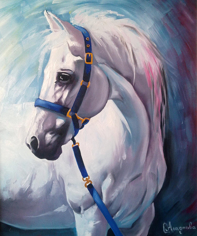 Horse 2 Painting  - Horse 2 Fine Art Print