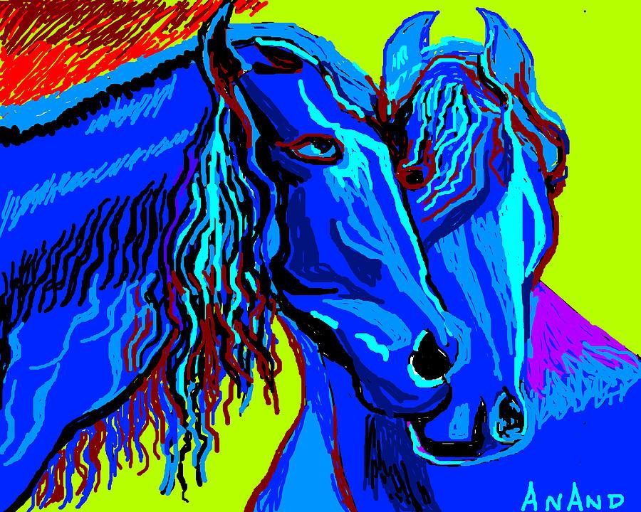 Horse-7 Digital Art
