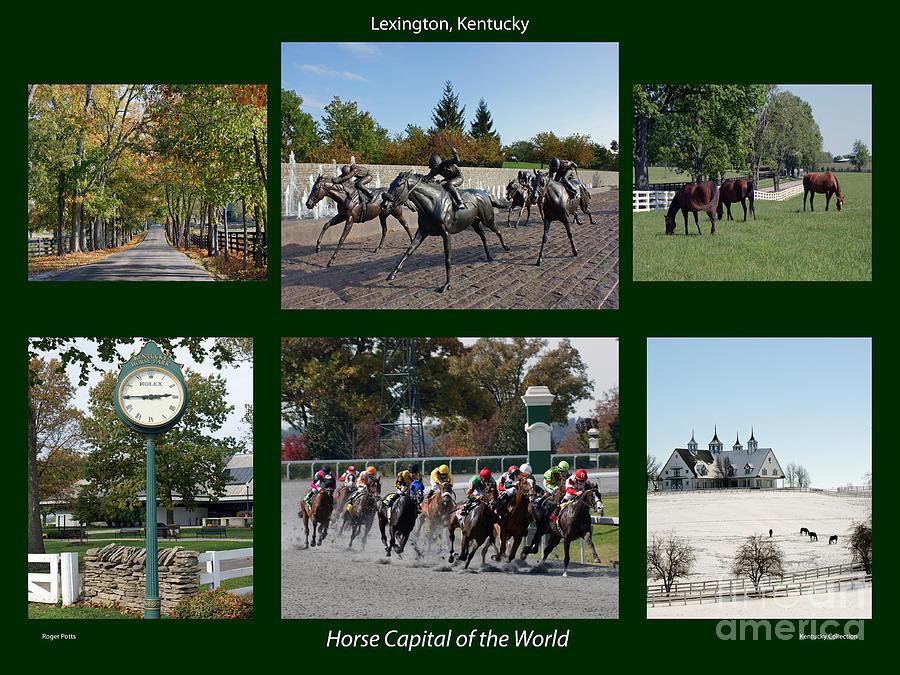 Lexington Photograph - Horse Capital Of The World by Roger Potts