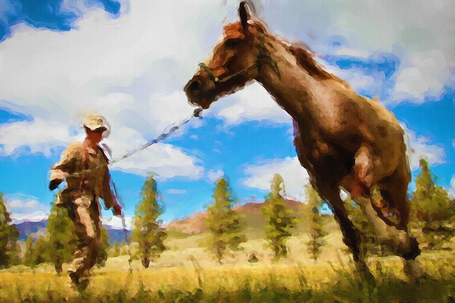Horse Master Painting