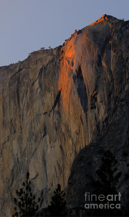 Horsetail Falls Yosemite Photograph
