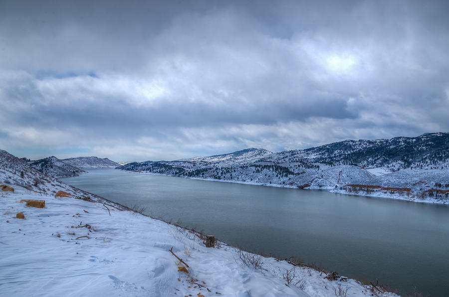 Horsetooth Reservoir Looking South Photograph  - Horsetooth Reservoir Looking South Fine Art Print