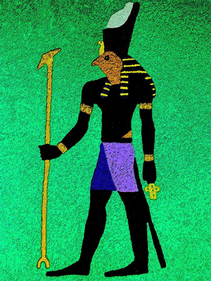 Horus Mixed Media