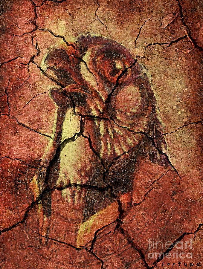 Horus Drawing - Horus - Wall Art by Dragica  Micki Fortuna