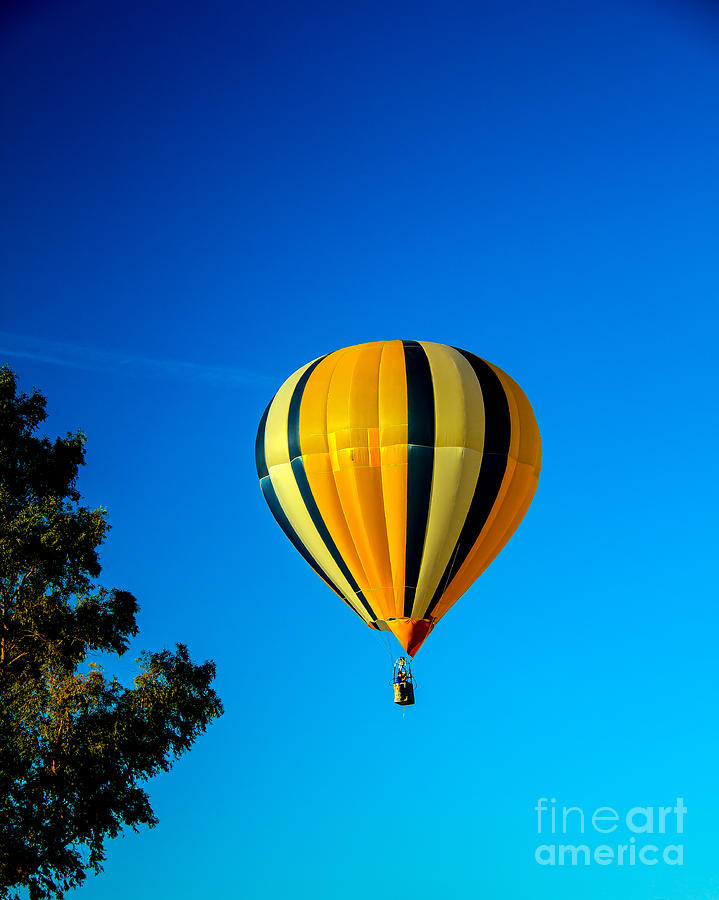 Hot Air Balloon Photograph  - Hot Air Balloon Fine Art Print