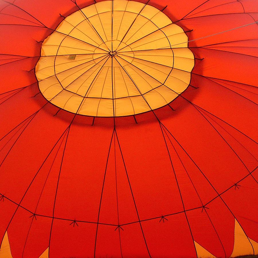 Hot Air Balloon At Dawn Photograph