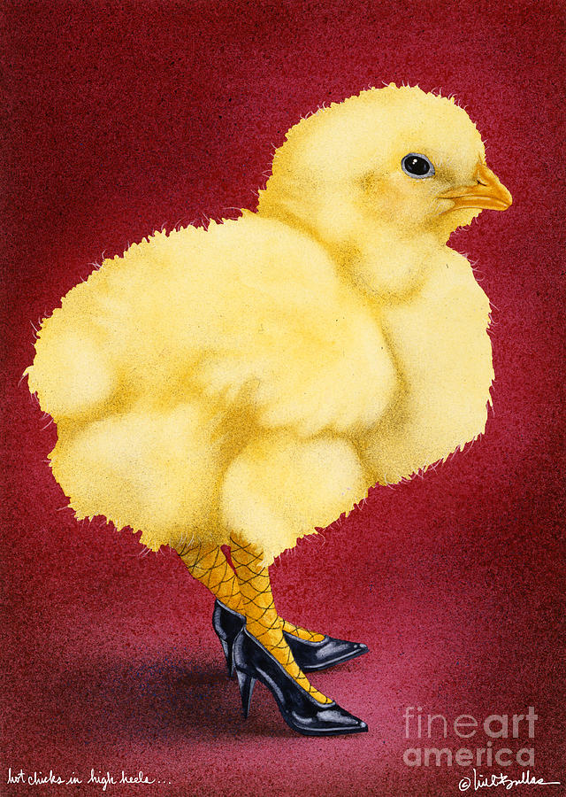 Hot Chicks In High Heels... Painting