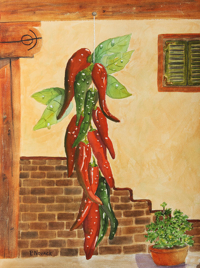 Hot Chili Peppers Painting  - Hot Chili Peppers Fine Art Print