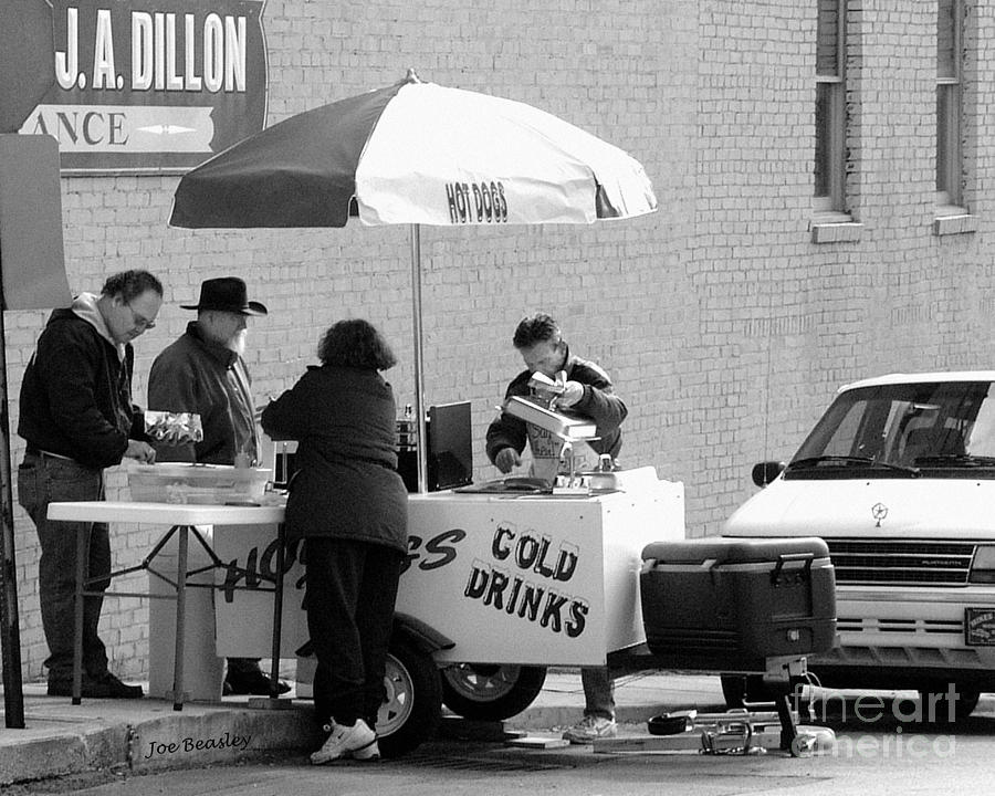Hot Dog Man Photograph  - Hot Dog Man Fine Art Print