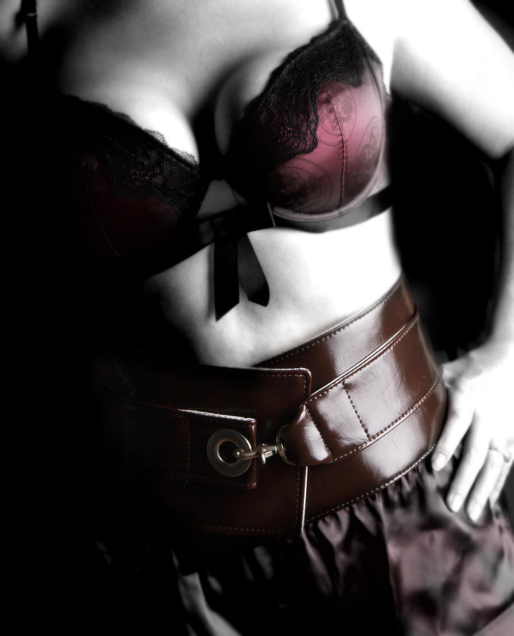 Hot Pleather Belt Photograph  - Hot Pleather Belt Fine Art Print