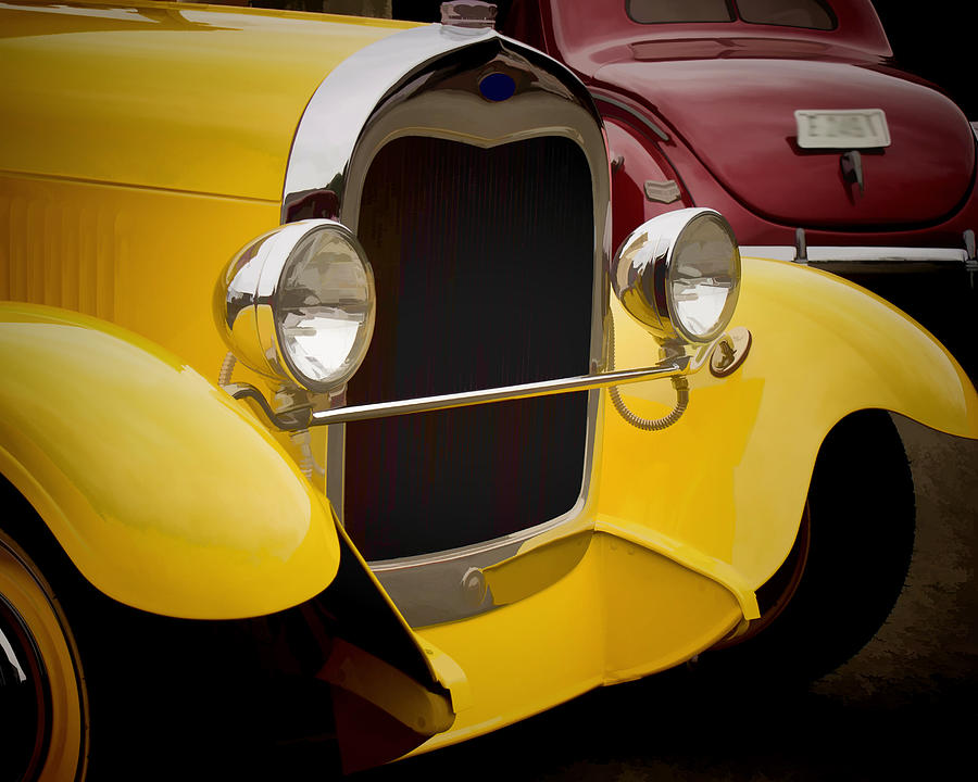 Hot Rod Fords Photograph  - Hot Rod Fords Fine Art Print