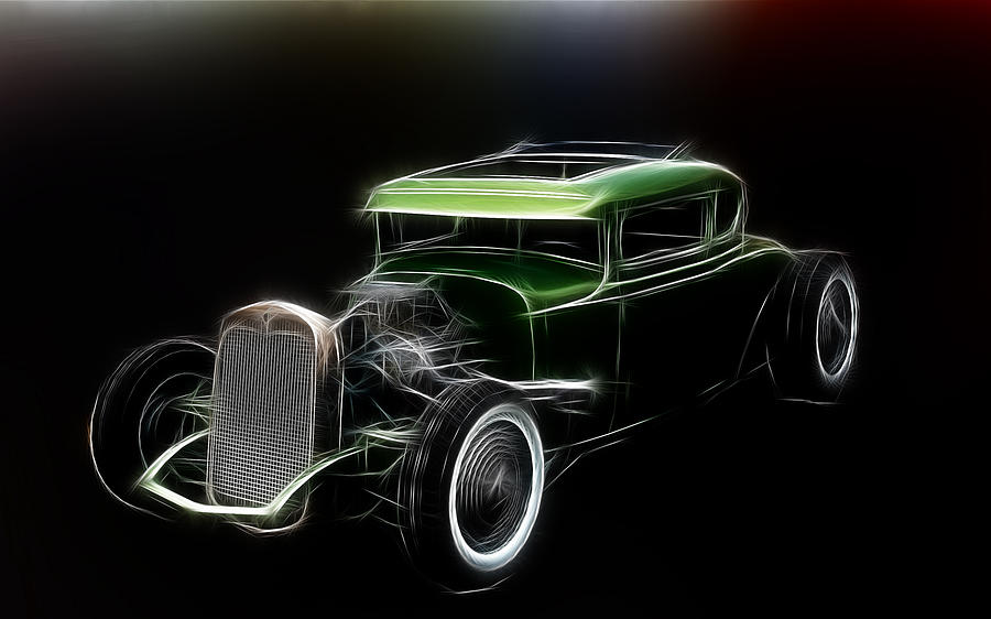 Hot Rod Green is a photograph by Steve McKinzie which was uploaded on ...
