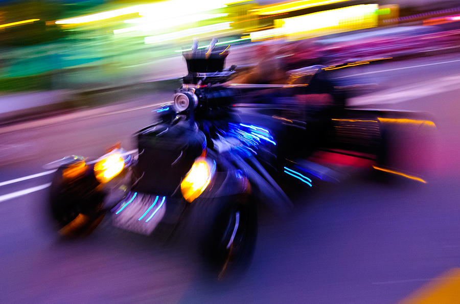 Hot Rod Warp Photograph  - Hot Rod Warp Fine Art Print