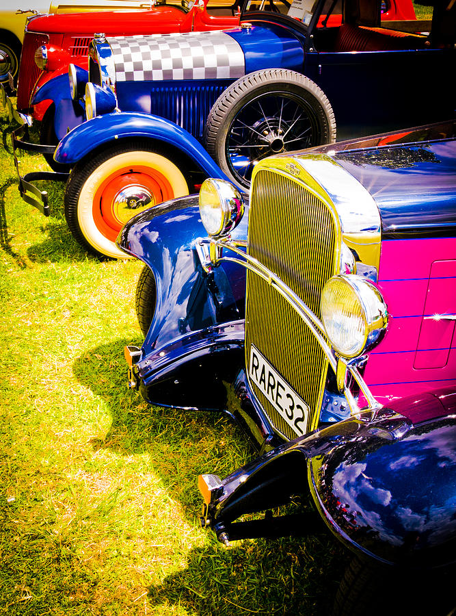 Hot Rod Display Photograph - Hot Rods by Phil motography Clark