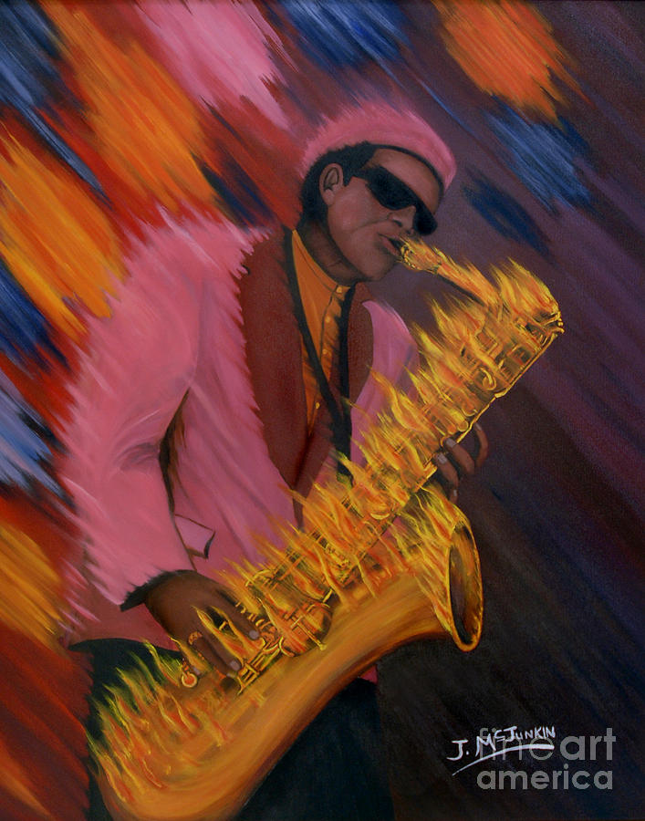 Hot Sax Painting
