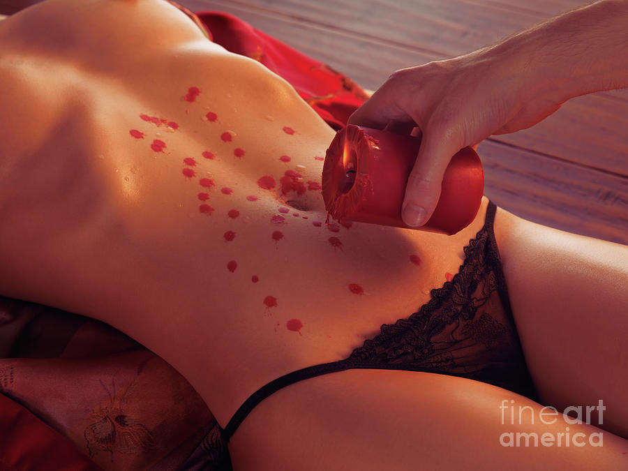 Hot Wax Foreplay Photograph  - Hot Wax Foreplay Fine Art Print