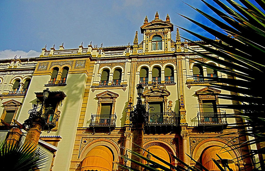 Europa Photograph - Hotel Alfonso Xiii - Seville by Juergen Weiss