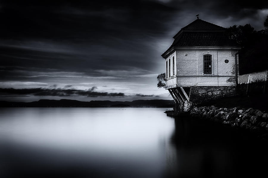 House By The Sea Photograph  - House By The Sea Fine Art Print