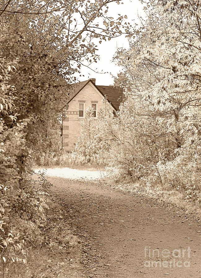 House In Autumn Photograph