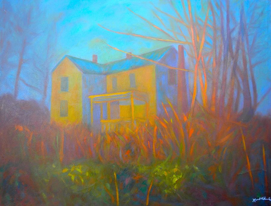 Blacksburg Paintings Painting - House In Blacksburg by Kendall Kessler