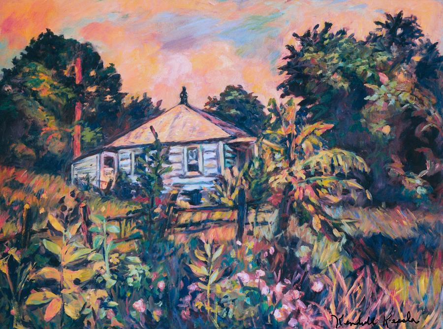 House On Route 11 Painting  - House On Route 11 Fine Art Print