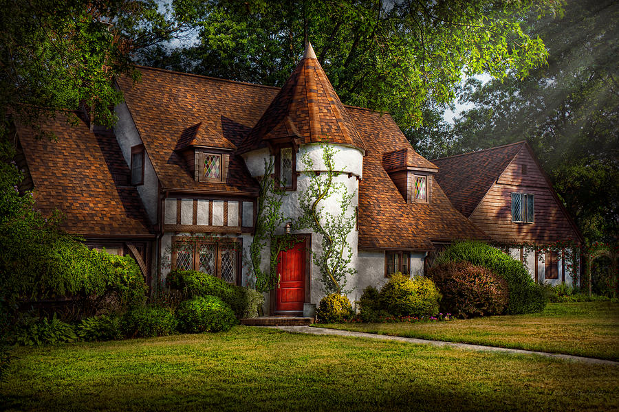 House - Westfield Nj - Fit For A King Photograph  - House - Westfield Nj - Fit For A King Fine Art Print