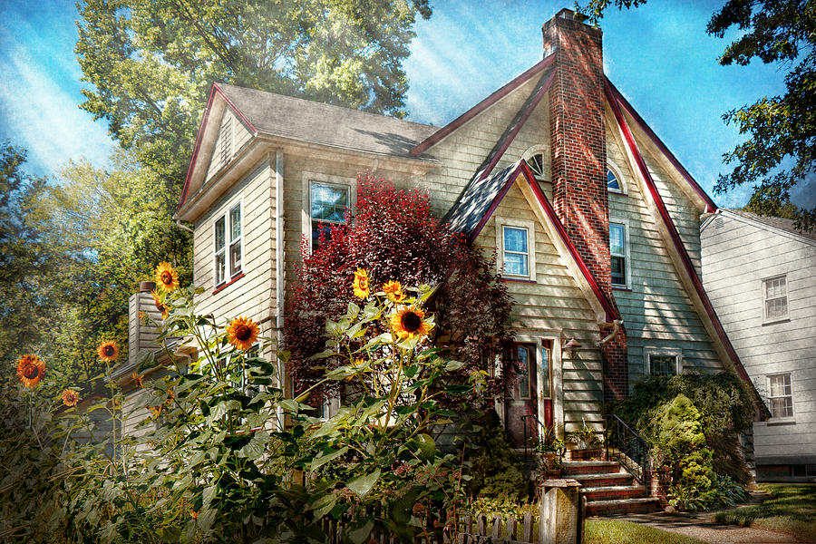 House - Westfield Nj - The Summer Retreat  Photograph  - House - Westfield Nj - The Summer Retreat  Fine Art Print