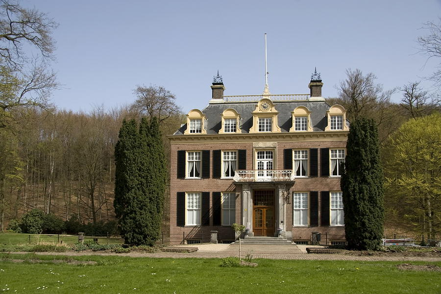 Zypendaal House Photograph - House Zypendaal In Arnhem Netherlands by Ronald Jansen