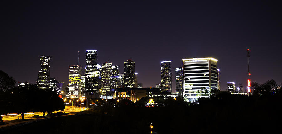 Houston Glow Photograph