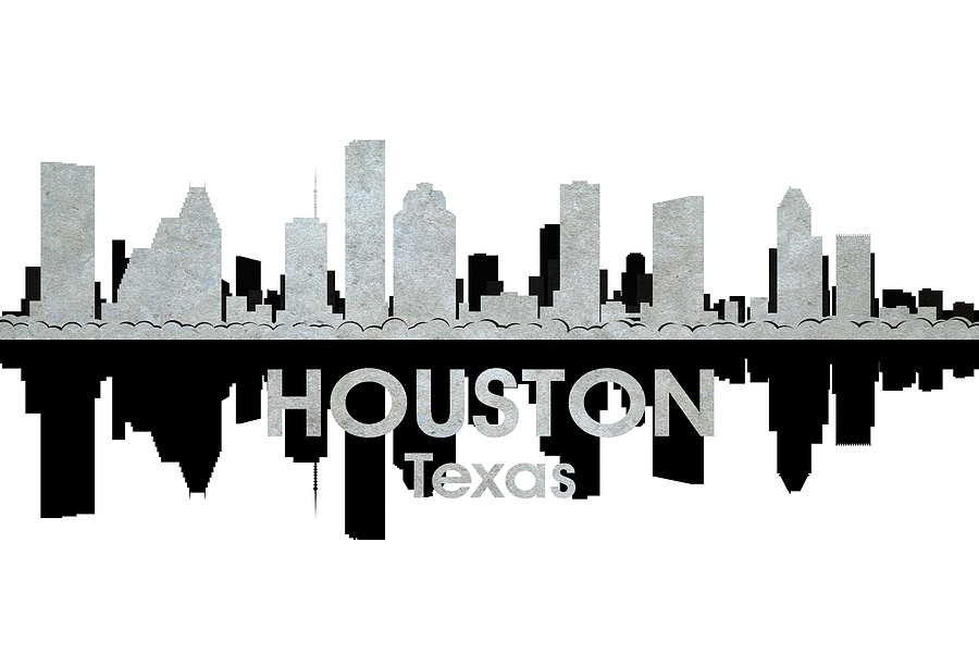 Houston Tx 4 Mixed Media  - Houston Tx 4 Fine Art Print