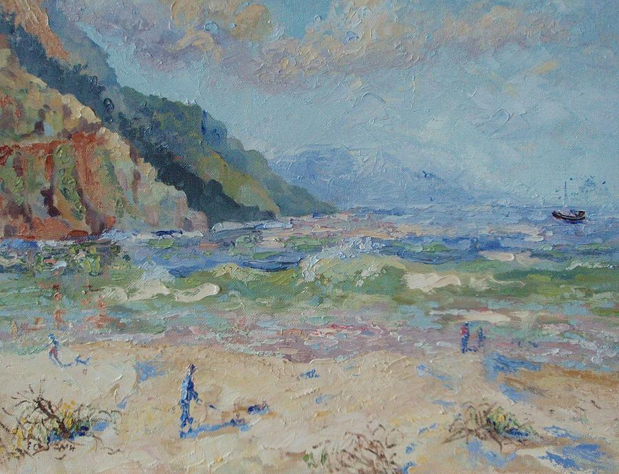 Hout Bay Beach Painting