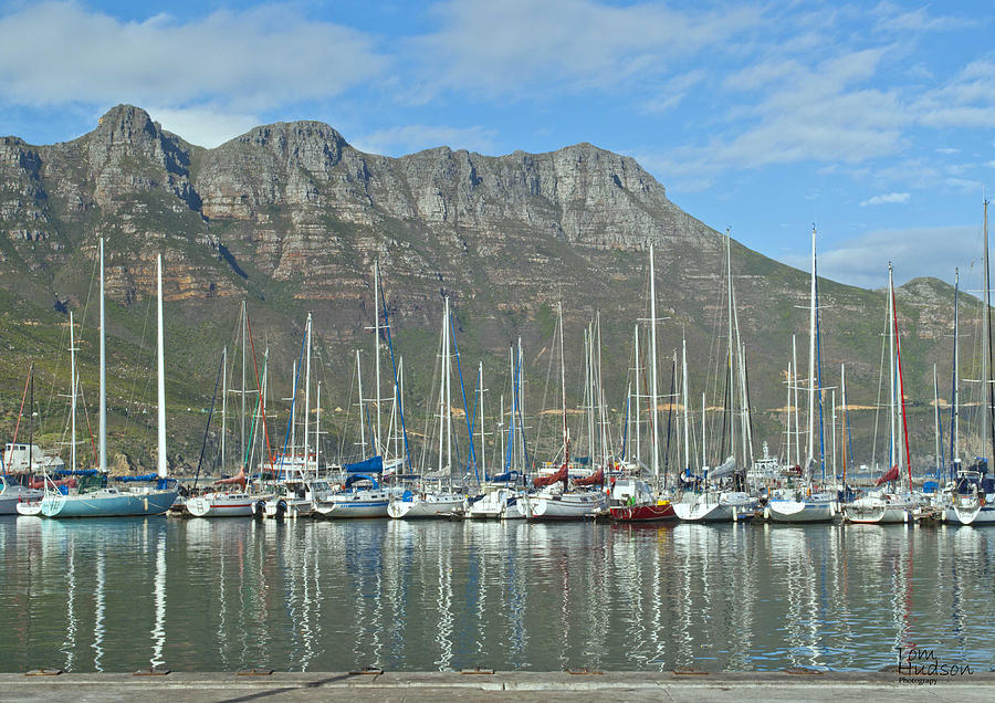 Hout Bay Photograph - Hout Bay by Tom Hudson