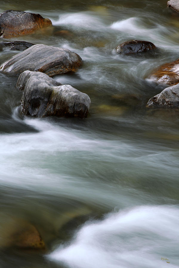 How It Flows Photograph  - How It Flows Fine Art Print