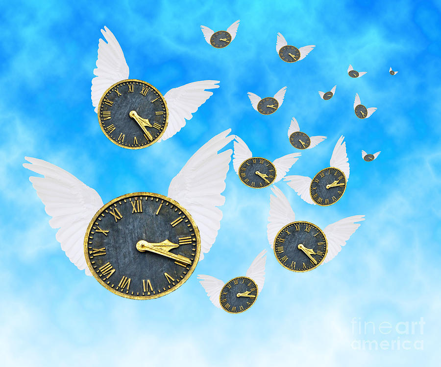 How Time Flies Photograph  - How Time Flies Fine Art Print