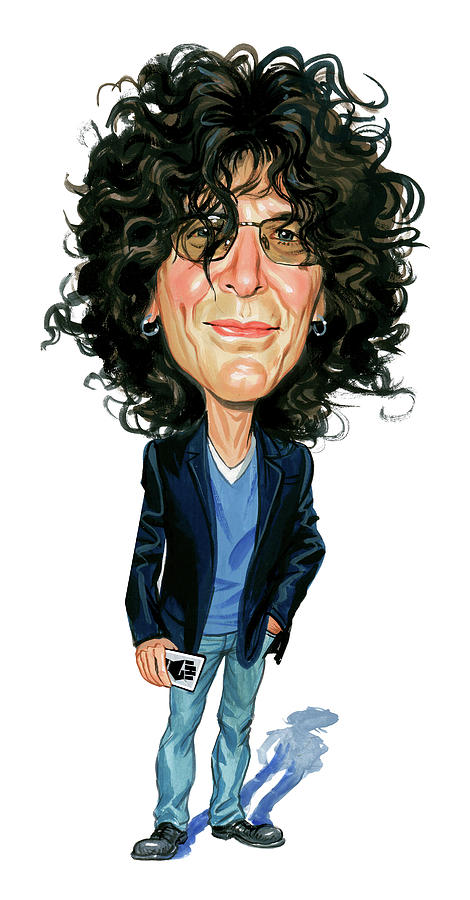 Howard Stern Painting