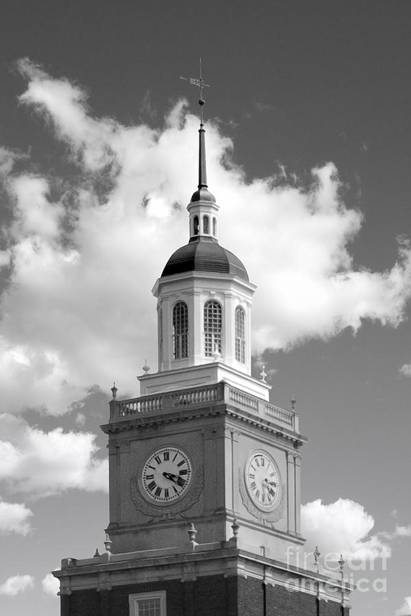 Howard University Founders Library Photograph  - Howard University Founders Library Fine Art Print
