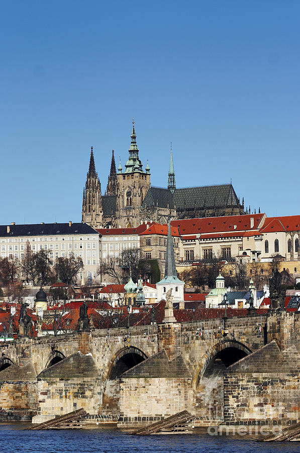 Hradcany - Prague Castle Photograph  - Hradcany - Prague Castle Fine Art Print