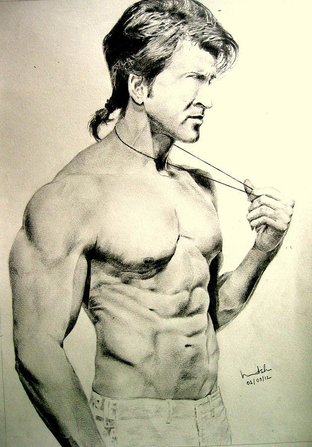 Hrithik Roshan Drawing