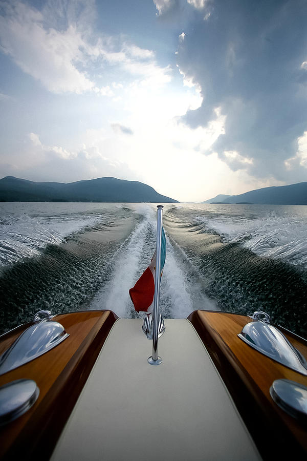 Riva Photograph - Hudson River Riva by Steven Lapkin