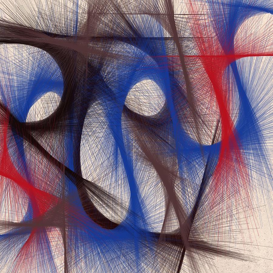 Hues Digital Art - Hues Of Blue by Marian Palucci-Lonzetta