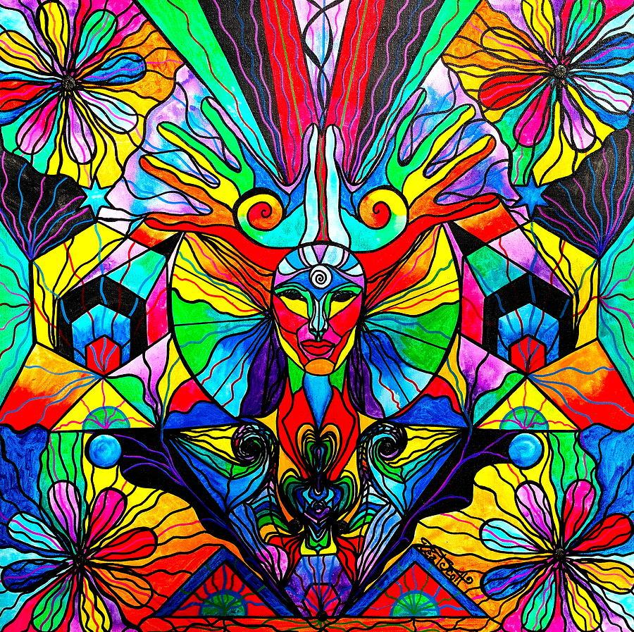Human Self Awareness Painting - Human Self Awareness by Teal Eye  Print Store