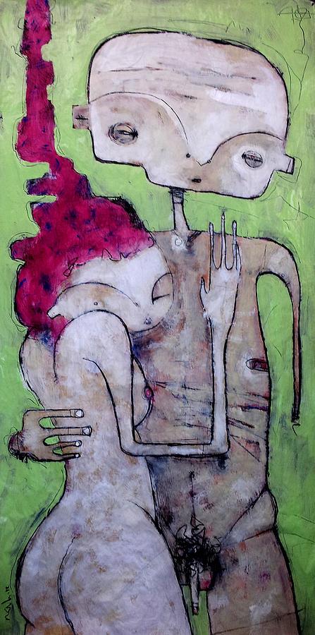 Humanitas No. 10  Painting