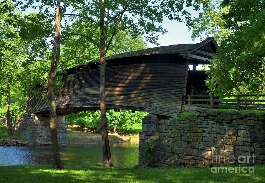 Humpback Covered Bridge 2 Photograph  - Humpback Covered Bridge 2 Fine Art Print
