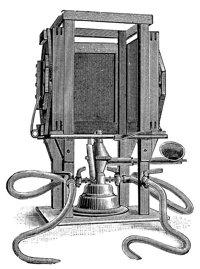 Humphery Gas Lamp, 1893 Photograph
